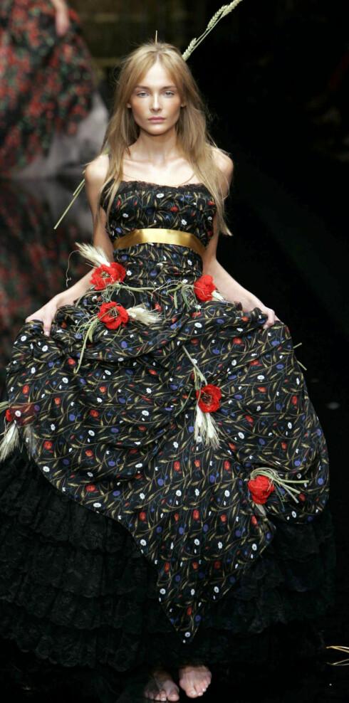 Dolce & Gabbana vår-sommer 2006.