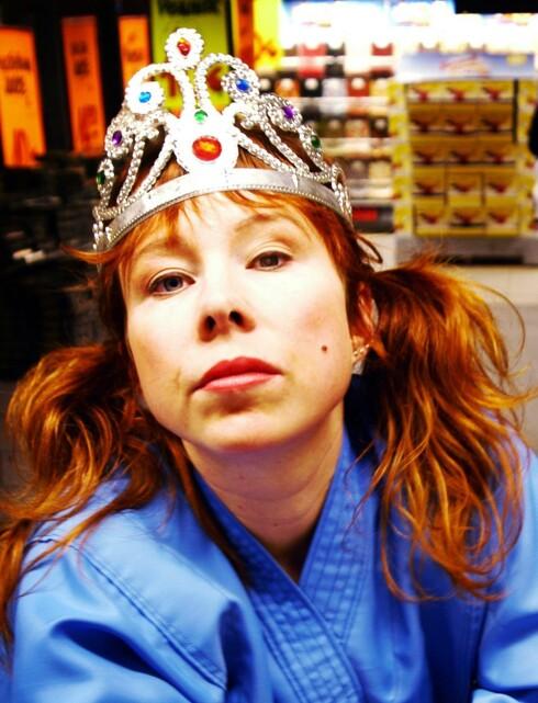 Til Trondheim: Catti Brandelius, her som «Miss Universum».