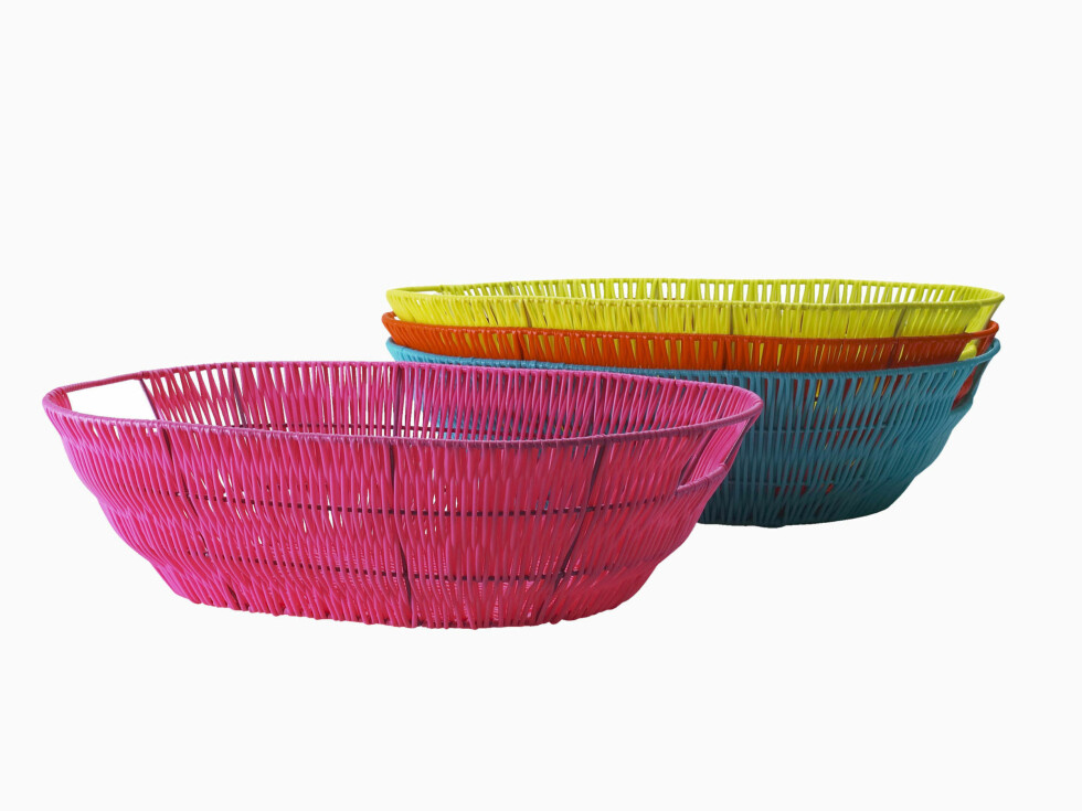 Sommerkurver i mange farger (kr 70, Ikea).