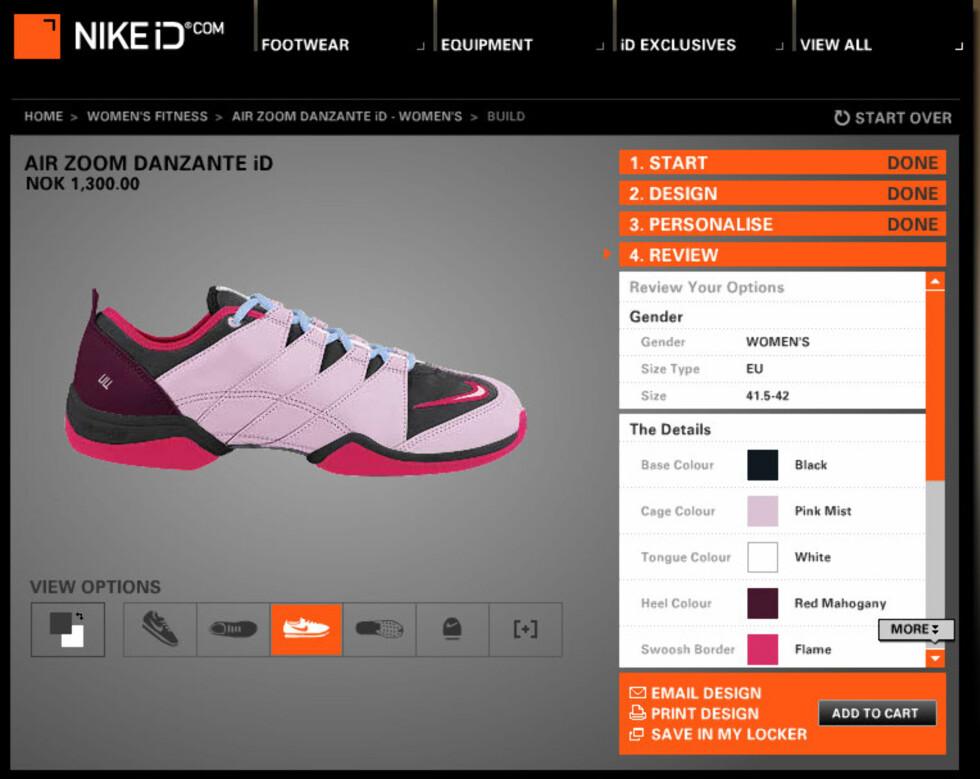 Design dine egne sko