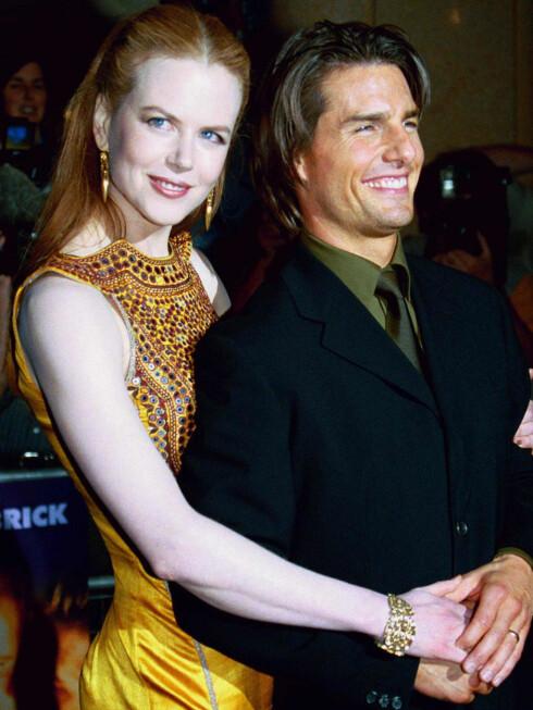 Nicole Kidman og Tom Cruise var i mange år Hollywoods superpar.