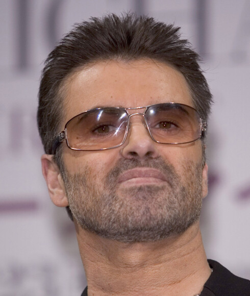 Tatt for dop: popstjernen George Michael. Foto: All Over Press