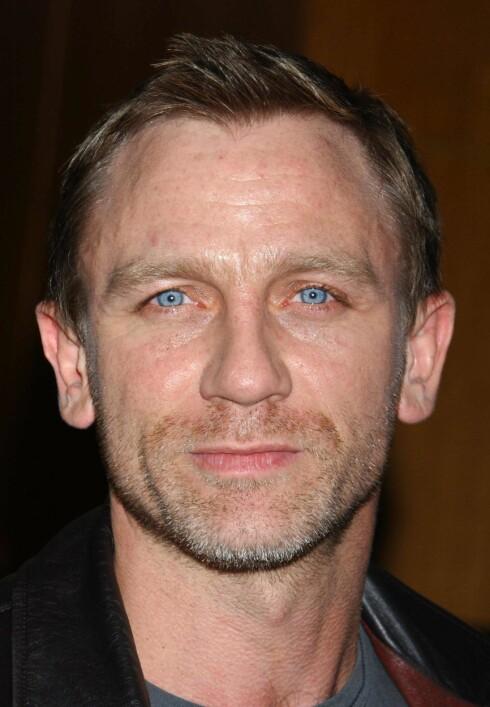 Ikke populær: Daniel Craig skal spille James Bond i Casino Royale. Foto: All Over Press