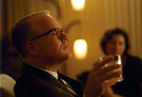 Capote var nominert til 5 Oscar. Phillip Seymour Hoffman vant som ventet Oscar for beste mannlige hovedrolle.