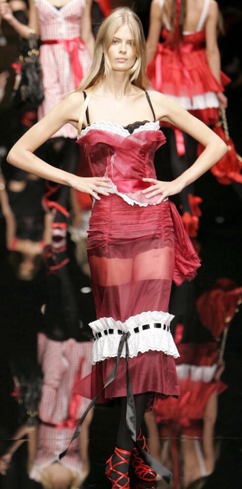 Dolce & Gabbana vår- somer 2006.