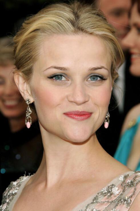 Reese Witherspoon strålte.