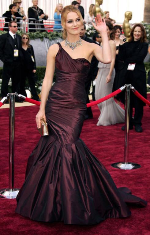 Keira Knightley enstroppet Vera Wang-kjole ble snytt for Oscar. Hun var nominert for beste kvinnelige hovedrolle i Stolthet og fordom, men Reese Witherspoon gikk av med seieren.