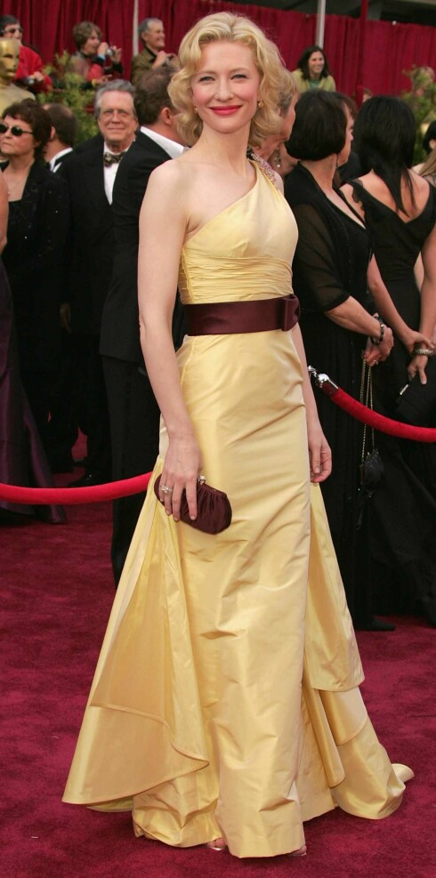 Cate Blanchett vant Oscar for The Aviator i fjor.