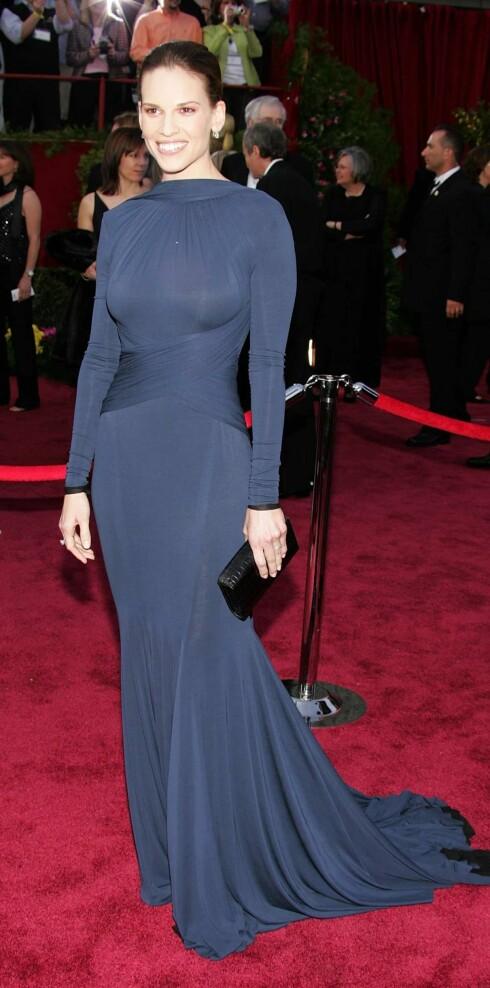 Hilary Swank vant Oscar for både Million Dollar Baby og Boys Don't Cry