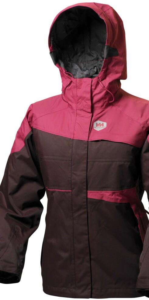 Flott jakke fra Helly Hansen. (kr 2400)