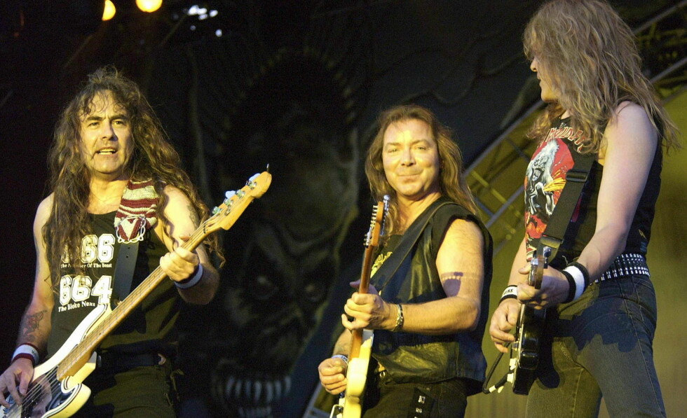Iron Maiden til Norge