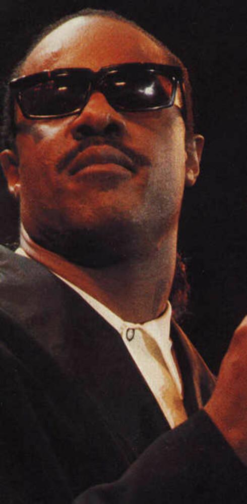 Prisvinner: Evig aktuelle Stevie Wonder.