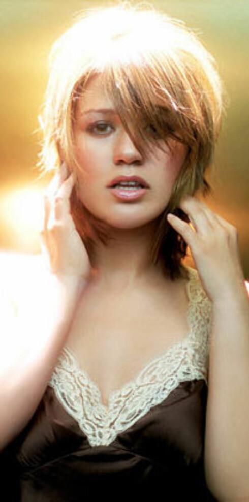 Prisvinner: USA-Idol Kelly Clarkson.
