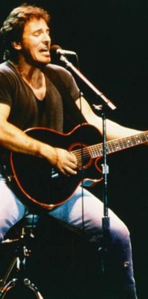 Prisvinner: Rockeringreven Bruce Springsteen.