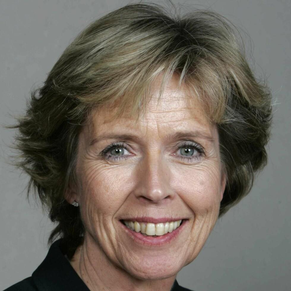 Møt forsvarsminister Anne-Grete Strøm-Erichsen i denne ukens KK-portrett. Foto: Bjørn Sigurdsøn