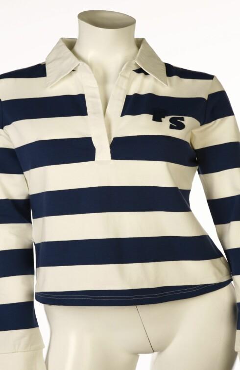 Stripete genser fra Ellos (kr 150).
