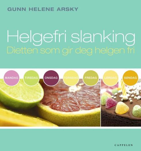 UTSKEIELSER: Boken «Helgefri slanking» lokker med kaker, snacks og vektnedgang.   Foto: Cappelen