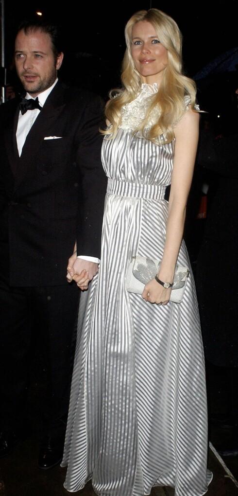 Ekteparet Matthew Vaughn og Claudia Schiffer.