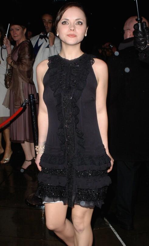 Skuespiller Christina Ricci.