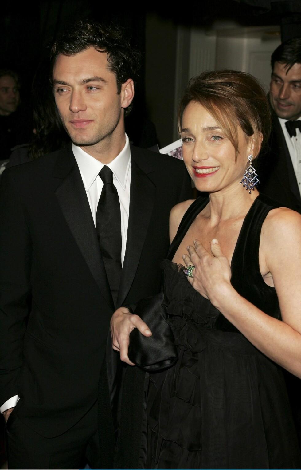 De britiske skuespillerne Jude Law og Kristin Scott Thomas.