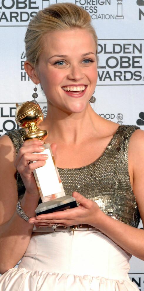 Hun fikk Golden Globe som beste skuespiller 16. januar i år.