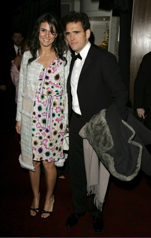 Skuespiller Matt Dillon med ukjent følge.