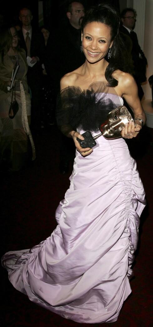 Thandie Newton vant BAFTA-pris for beste kvinnelige birolle i Crash. Snart blir hun 007-makker i James Bond-filmen  Casino Royale.