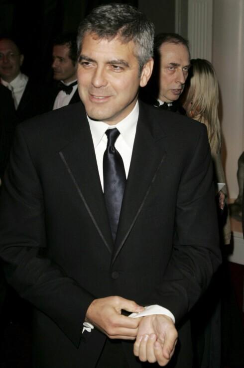 Skuespiller og regissør George Clooney var nominert til fire BAFTA for filmene Good Night, and Good Luck og  Syriana, men dro tomhendt hjem.