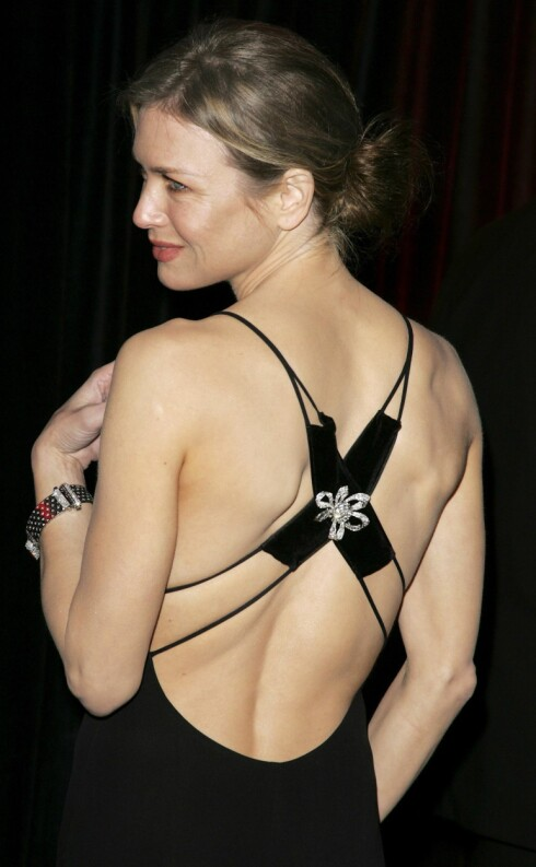Skuespiller Renee Zellweger hade en av BAFTA-prisutdelingens lekreste kjoler.