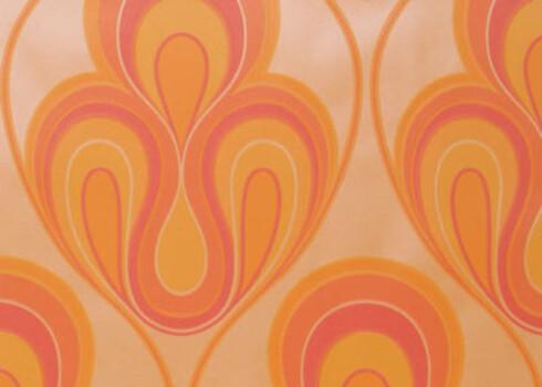 Clockwork Orange. Retrotapet fra 70-tallet (kr 215 pr. rull, Silenus Moya).