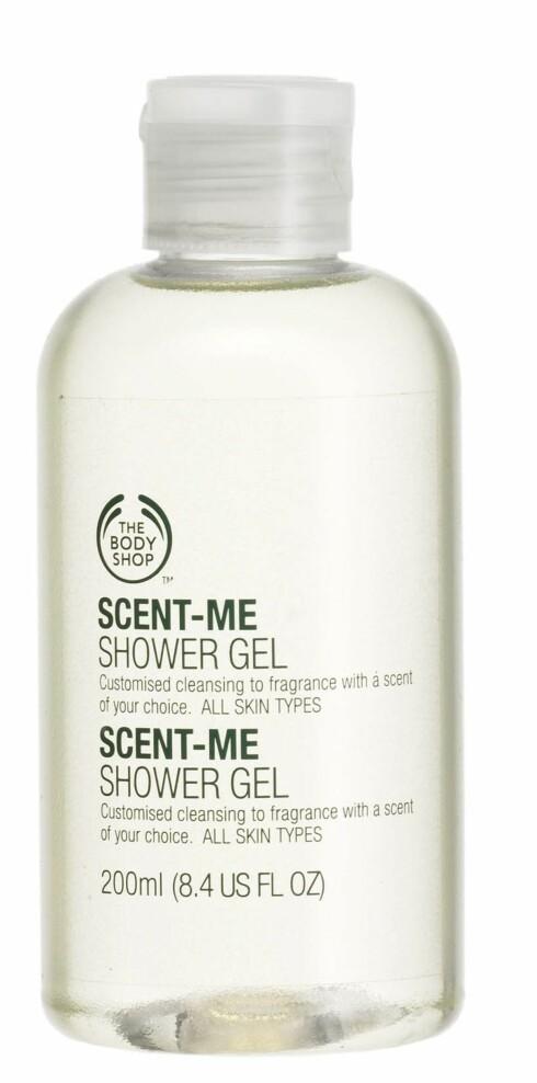 Scent- Me dusjgele(kr,80, The Body Shop)
