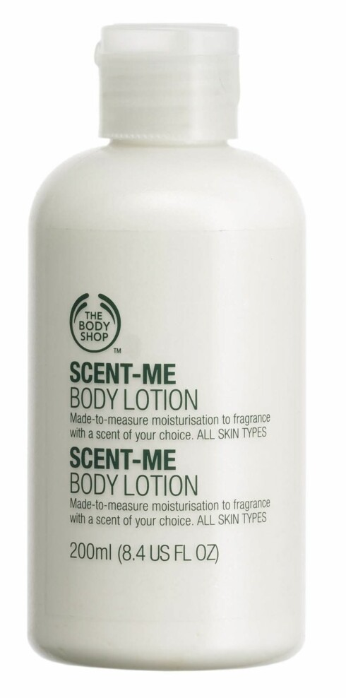 Scent- Me bodylotin (kr, 110, The Body Shop)