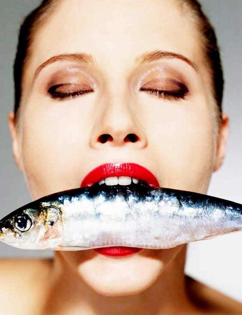 Fisk og omega 3 er viktig.