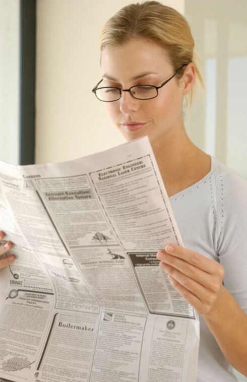 Ferdigbriller skal brukes til nærarbeid og som lesebriller - ikke i trafikken. Foto: ImageSource