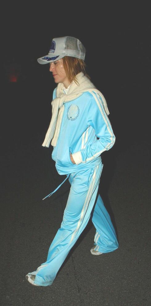 Madonna i tracksuit fra Juicy Couture. Gatesmart mote.