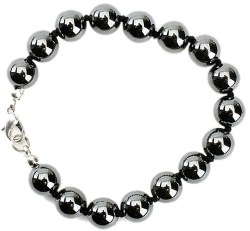 Armbånd i svarte perler (kr 150, Arts & Crafts).