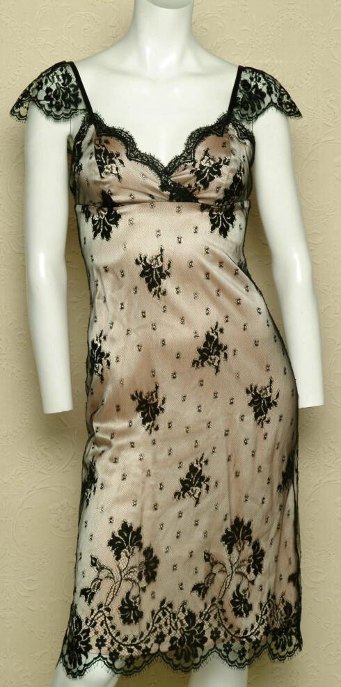 Gjenskap stilen til Christian Dior i denne kjolen(kr 3500,The Lovely Trap)