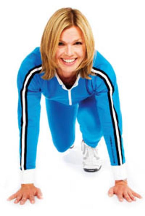 Jill svarer på det du lurer på om trening. Hun stiller til nettmøte fredag 10. februar klokken 11.00.