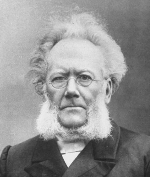 Klikkemagnet: Henrik Ibsen. Foto: All Over Press
