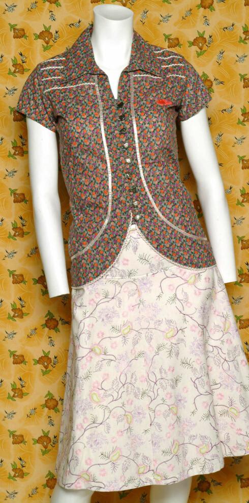 Bluse (kr 500, D Ahrling), skjørt (kr 1200, Maggie Wonka)