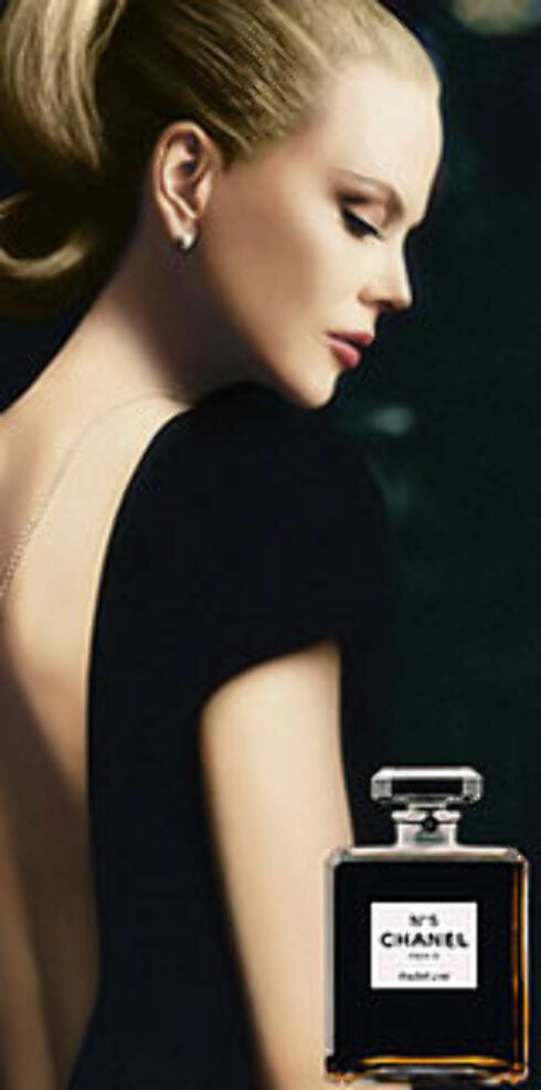 Nicole Kidman i reklamen for Chanel No 5 i fjor.