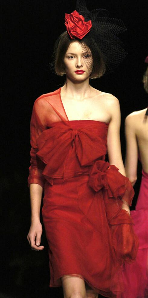 Elegant i rødt fra Sonia Rykiel.