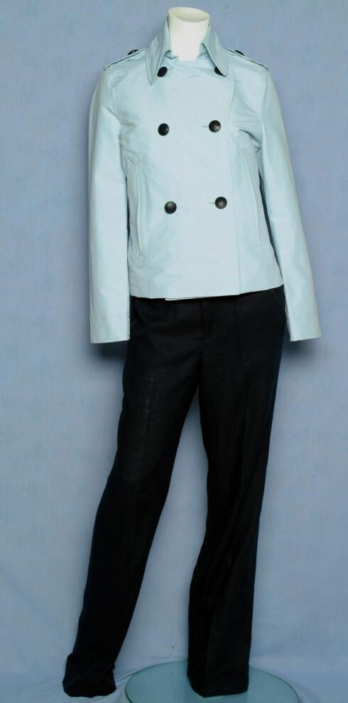 Jakke (kr 3700, Gant), bukse (kr 700, Mexx)