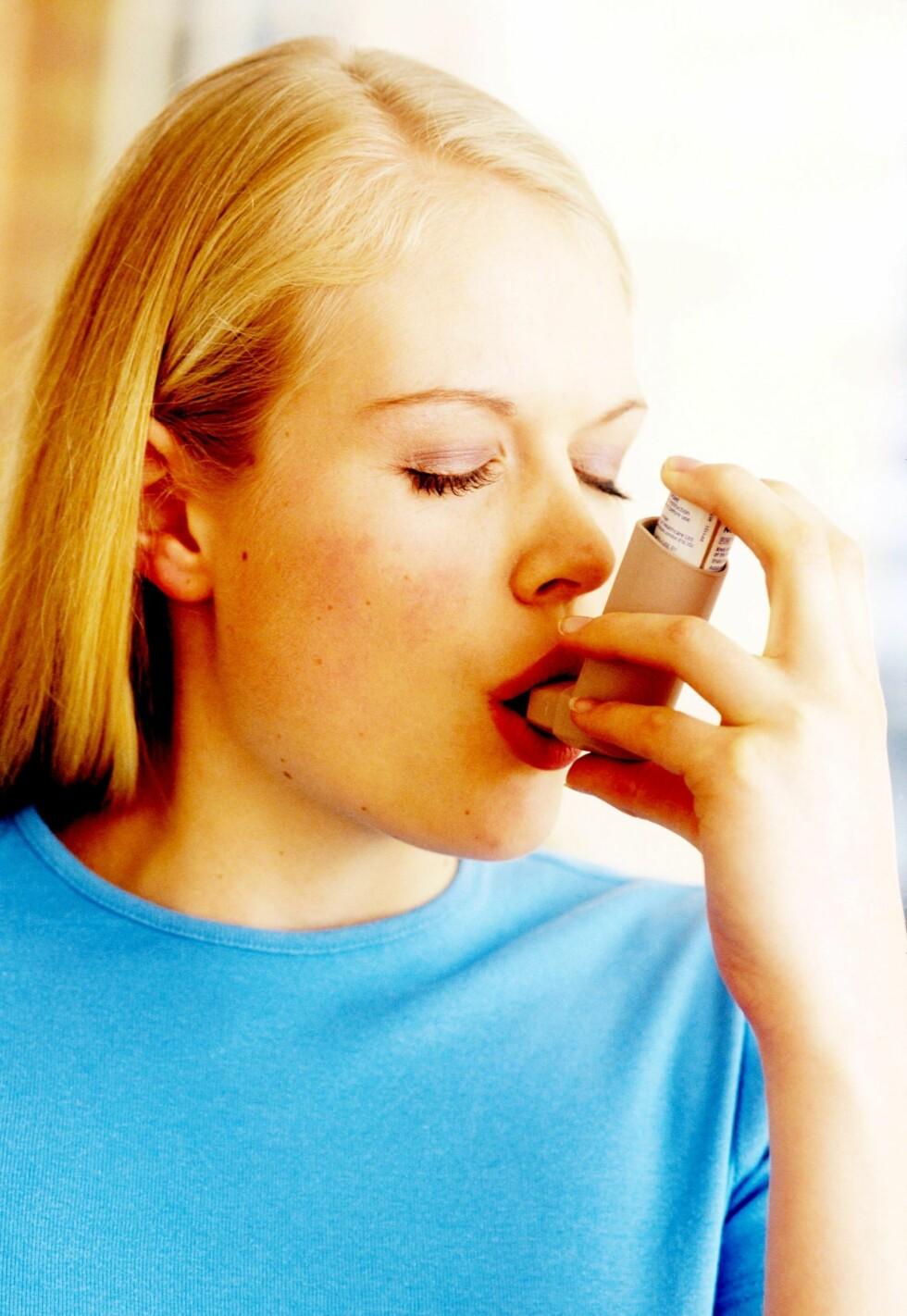 Test astmaen på nettet