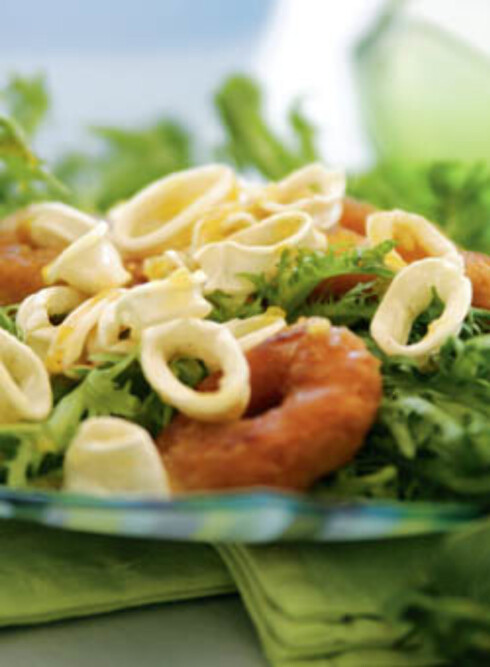 Salat med akkarringer