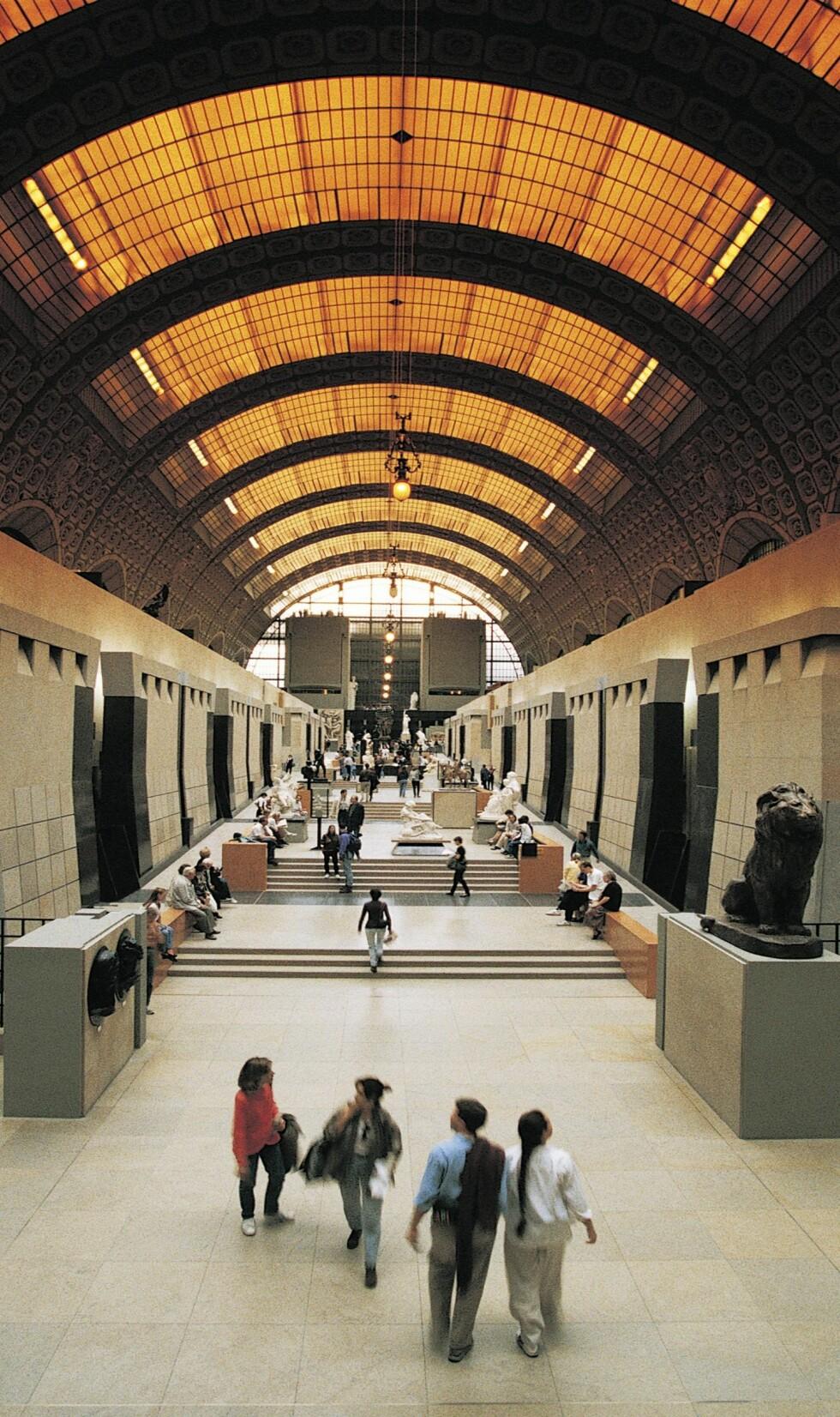 En tur på museum eller galleri kan gi fred i sinnet og redusere stress.  Foto: All Over Press