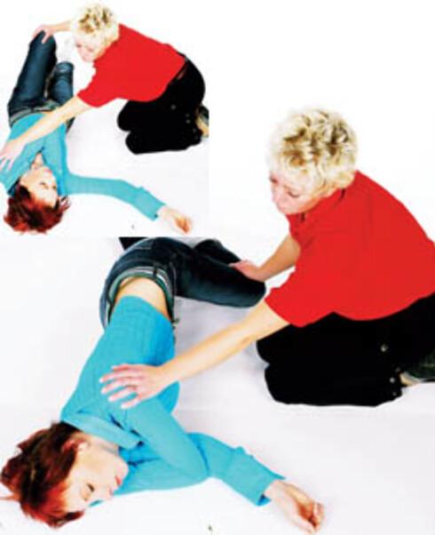 Bevisstløse pasienter som puster, kan legges i stabilt sideleie. Se punkt 7.