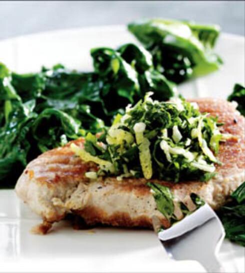 Frisk tunfisk