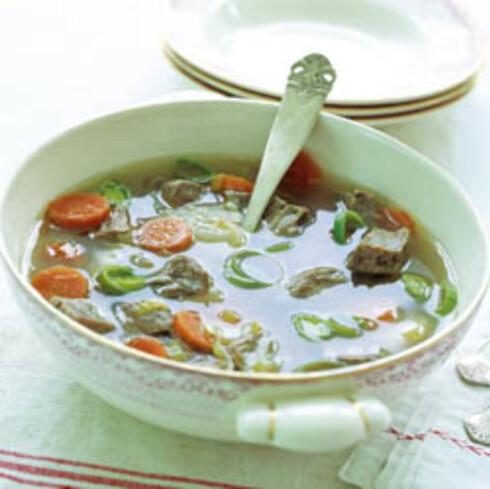 Fersk suppe
