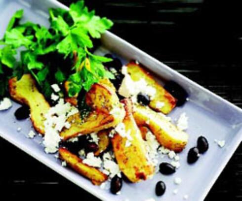 Gresk-inspirert potetsalat
